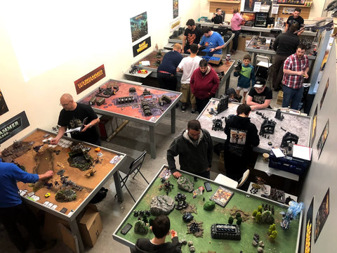 tabletop wargaming in scotland
