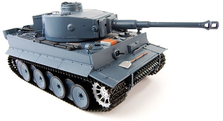 Henglong 1:16 German Tiger I (2.4GHz+Shooter+Smoke+Sound) RC Tank - RTR