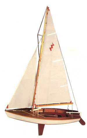 Dumas Lightning Sailboat Kit (1110)