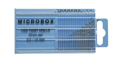 Expo 20pc HSS Twist Drill Set