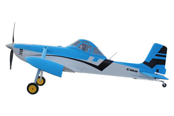 Dynam Cessna 188 Blue (1500mm) - ARTF
