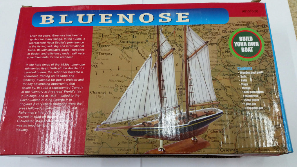 Tasma Bluenose Starter Wooden Boat Kit