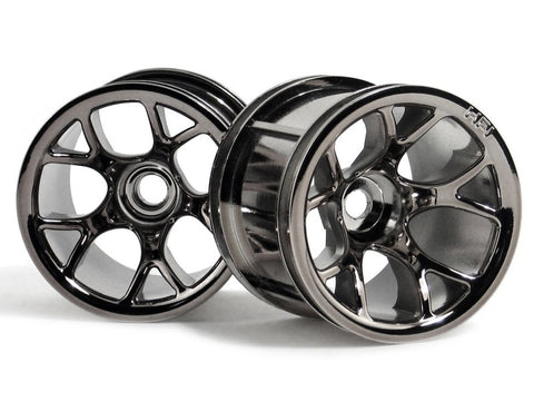 HPI  #2193 - MT MESH WHEEL (FRONT/BLACK CHROME)