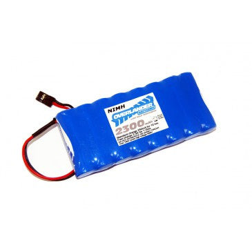 Overlander 2300mah 9.6v Receiver Flat Pack NiMH Battery