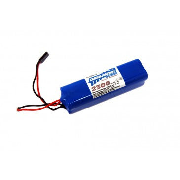Overlander 2300mah 9.6v Receiver Square Pack NiMH Battery