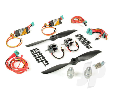 Multiplex TwinStar BL Brushless Power Set