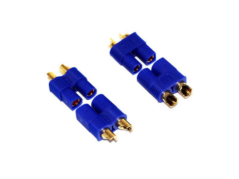 EC3 battery connectors (male & female) - 2 Pairs
