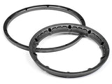 HPI HEAVY DUTY WHEEL BEAD LOCK RINGS (GUNMETAL/for 2 Wheels)