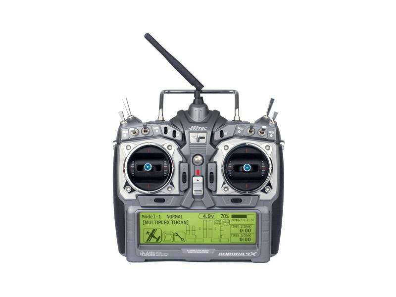 Hitec Aurora 9X Tx 2.4GHz AFHSS/SLT 4096 Resolution Mode 2