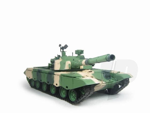 Henglong 1:16 Chinese ZTZ-99 (2.4GHz+Shooter+Smoke+Sound) RC Tank - RTR