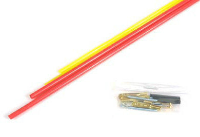 Sullivan Gold-N-Rod Control Rod Set - Red/Yellow