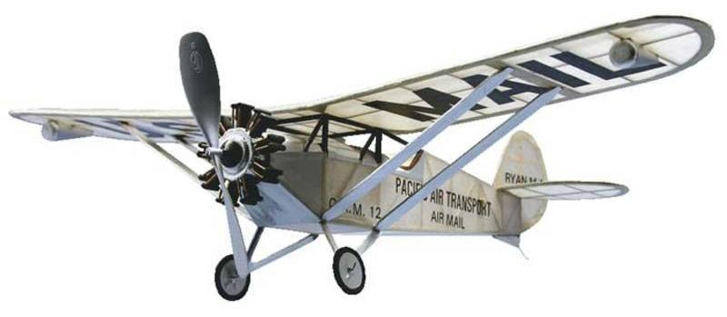 Dumas Ryan M-1 Mail Transport Balsa Kit