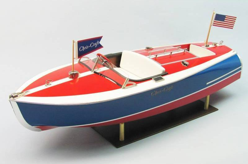 Dumas Chris-Craft Painted Racer Kit (1263)