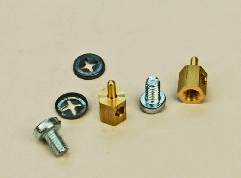SLEC Push Rod Connector Brass (2 x 10)