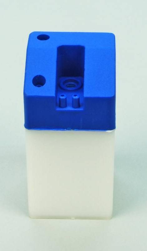SLEC 4oz Square Fuel Tank (Blue)