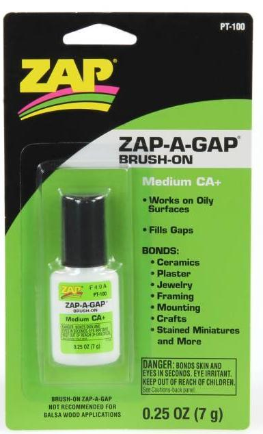 Zap-A-Gap CA+ Brush-On 1/4oz (Medium) - PT100