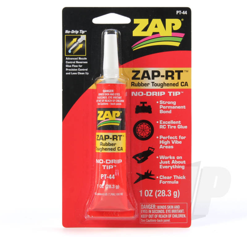 PT44 Zap-Rt Rubber Toughened Ca 1oz 28.3G