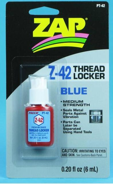 ZAP Z-42 Blue Thread Locker .20oz -PT42