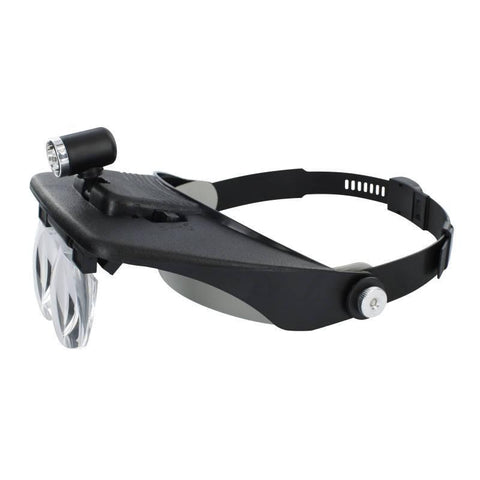 Lightcraft Headband Magnifier + 4 Lenses