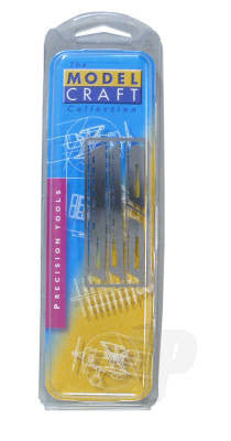 Modelcraft Saw Set No.1 For Scalpel Handle