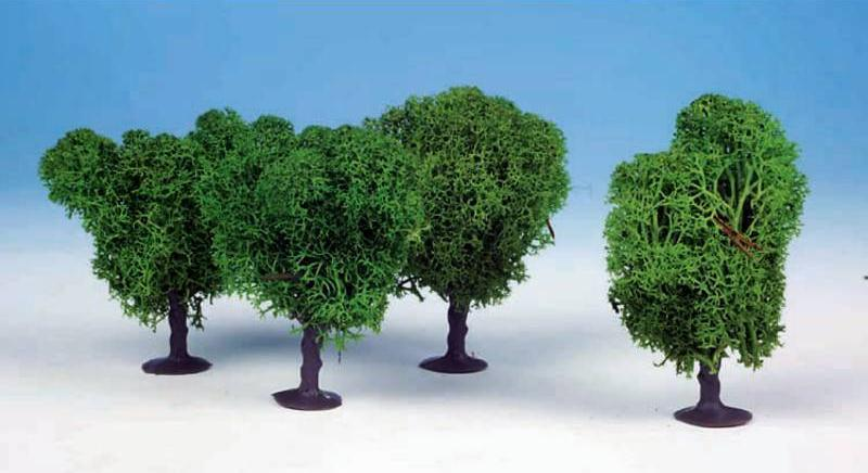 Heki 1031 4 Lichen Avenue Trees 7cm (Light Green)
