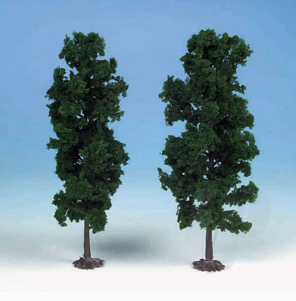 Heki 1130 2 Beech Trees 18cm (Dark Green)