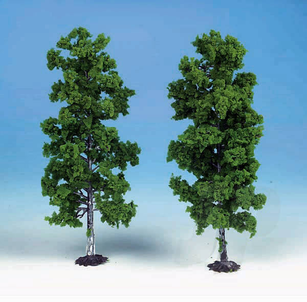 Heki 1135 2 Beech Trees 18cm (Light Green)