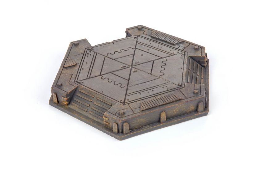 Gamemat.eu 28mm Industrial Landing Pad