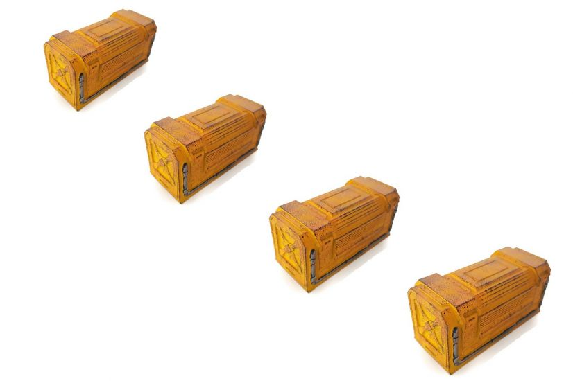 Gamemat.eu Chem-Zone Yellow Containers Set