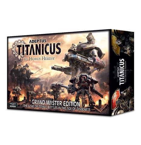 Adeptus Titanicus: The Horus Heresy Grand Master Edition (Limited Quantities)