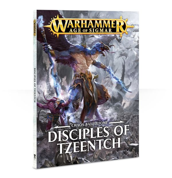 Warhammer Age of Sigmar Battletome: Disciples of Tzeentch (Softback)