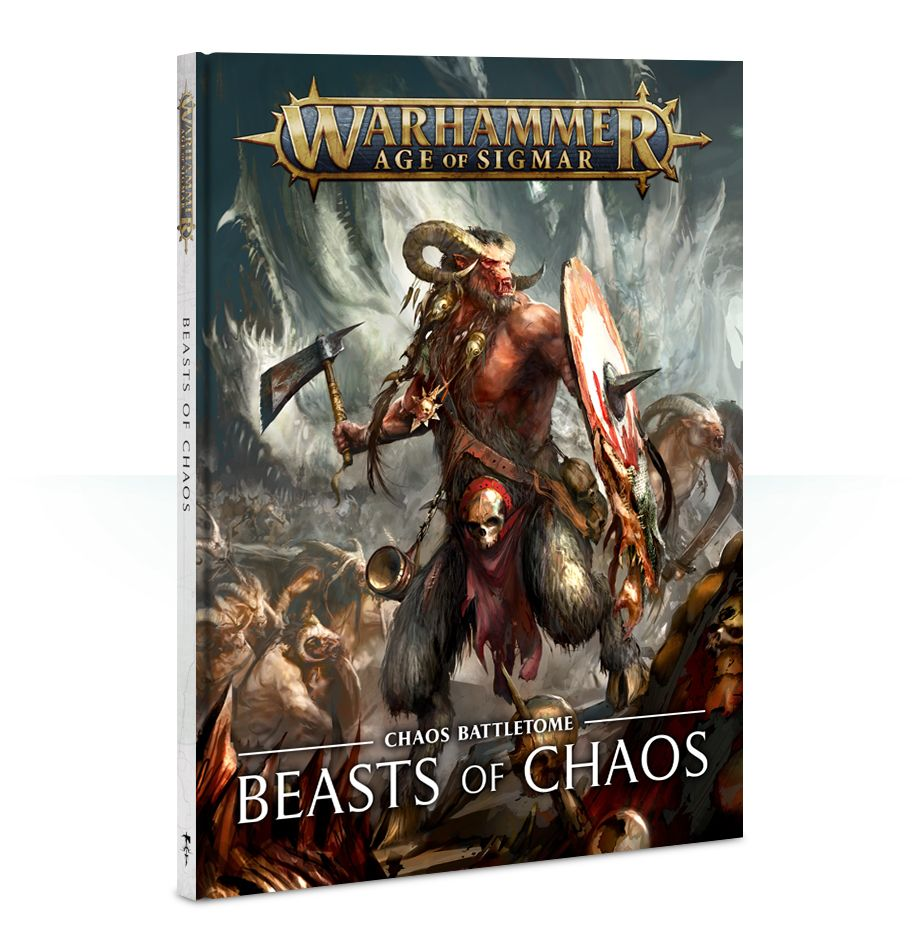 Warhammer Age Of Sigmar Battletome: Beasts of Chaos