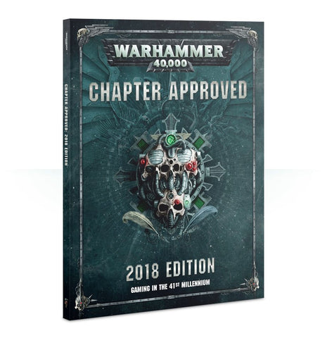 Warhammer 40K Chapter Approved 2018 Edition