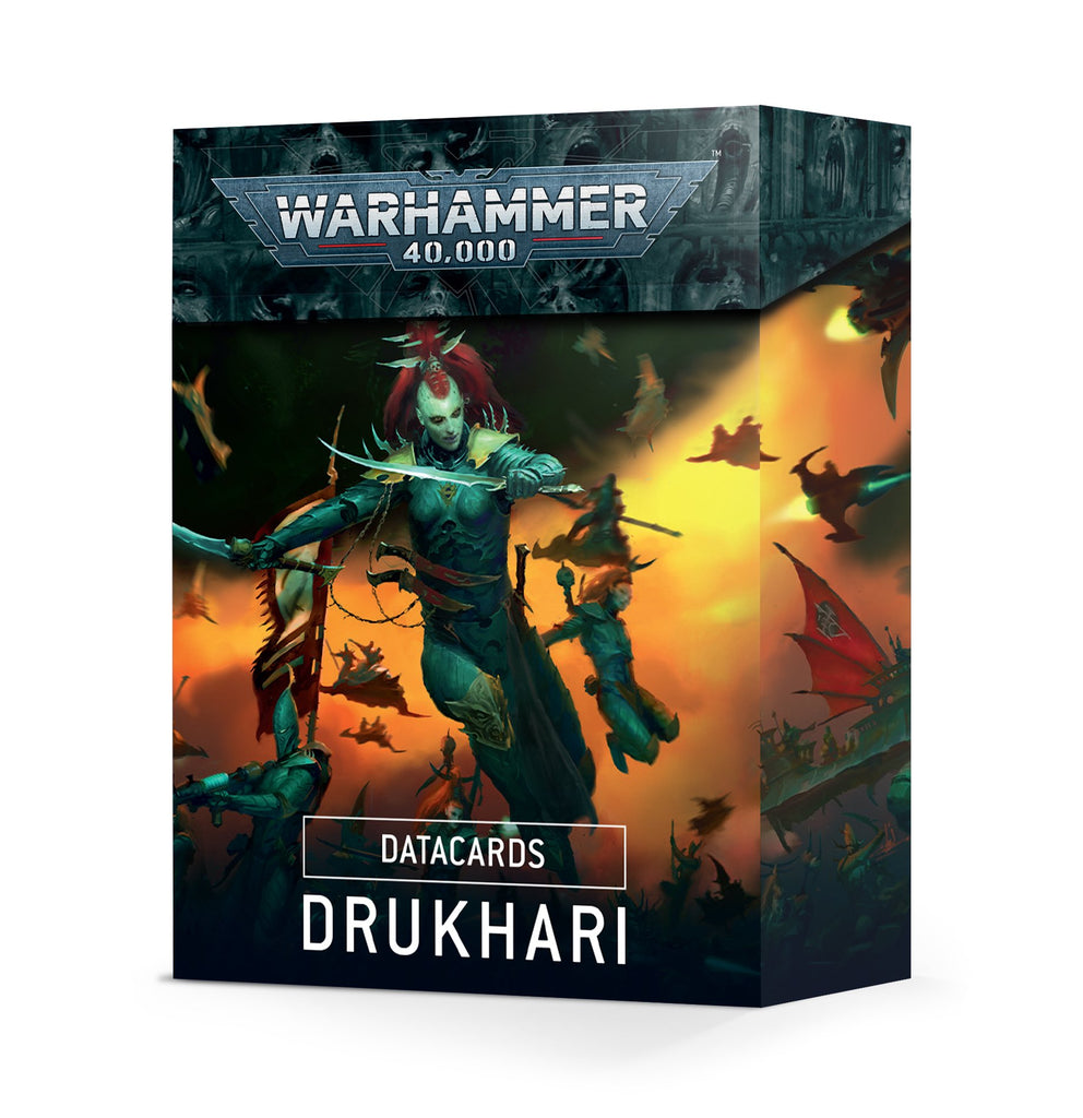 Warhammer 40K Datacards: Drukhari 9th
