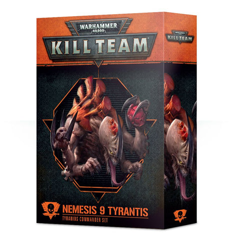 Kill Team: Nemesis 9 Tyrantis Tyranid Commander Set