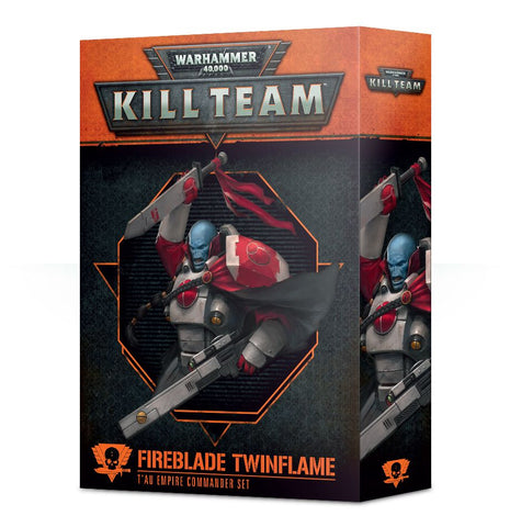 Kill Team: Fireblade Twinflame T'au Empire Commander Set