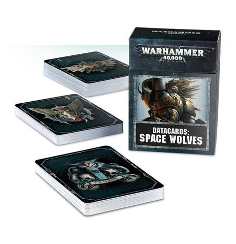Warhammer 40K Datacards: Space Wolves