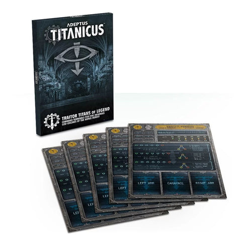 Adeptus Titanicus Traitor Titans of Legend