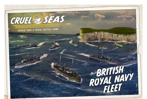 Cruel Seas British Royal Navy Fleet