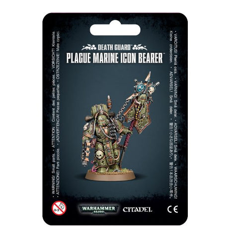 Warhammer 40K Plague Marine Icon Bearer