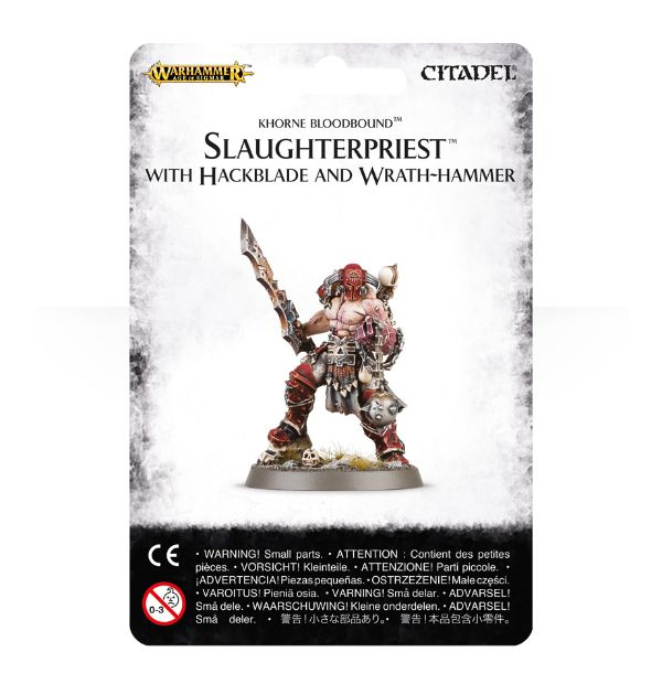 Warhammer Age of Sigmar Slaughterpriest with Hackblade and Wrath-hammer