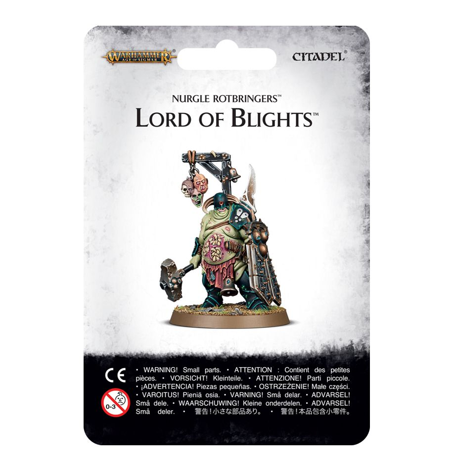 Warhammer Age Of Sigmar Lord of Blights