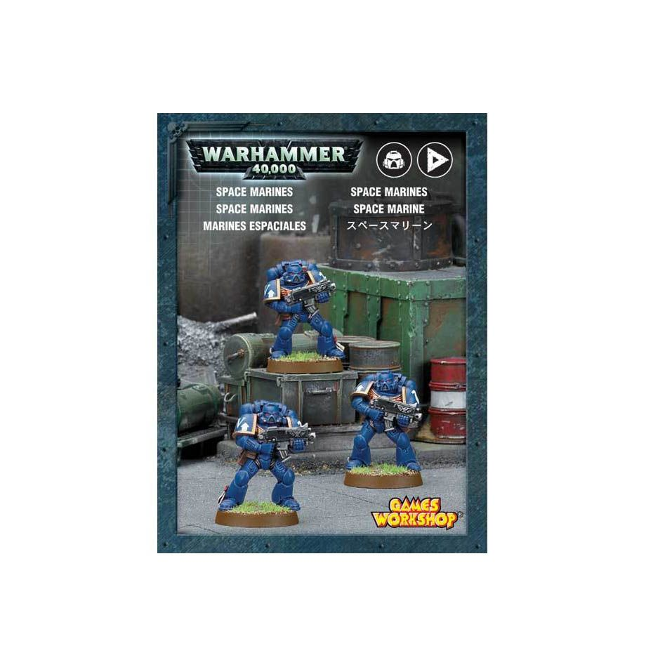 Warhammer 40K Space Marines