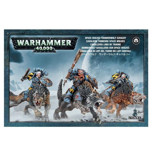 Warhammer 40K Space Wolves Thunderwolf Calvary
