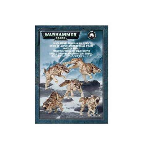Warhammer 40K Space Wolves Fenrisian Wolf Pack