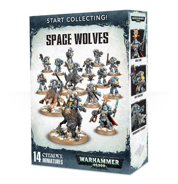 Warhammer 40K Start Collecting! Space Wolves