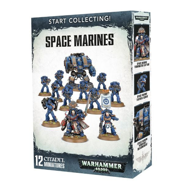 Warhammer 40K Start Collecting! Space Marines