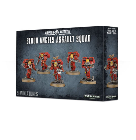 Warhammer 40K Blood Angels Assault Squad