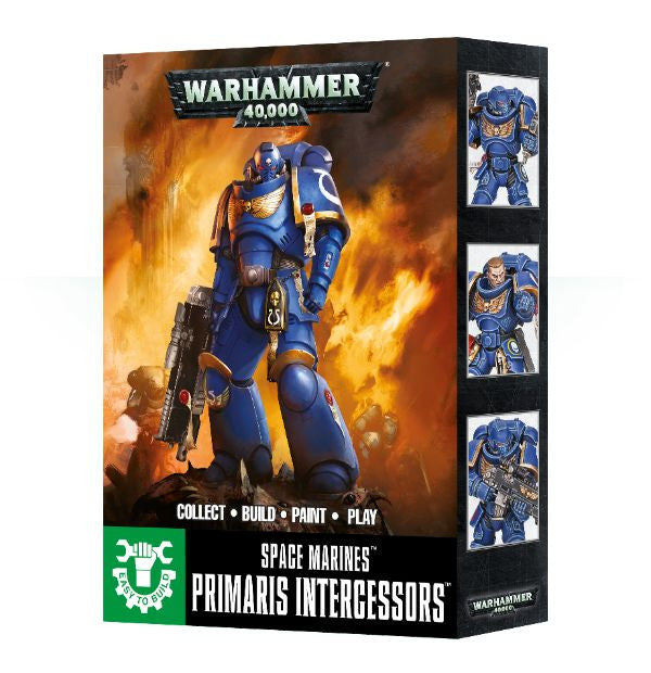 Warhammer 40K Easy To Build: Primaris Space Marine Intercessors