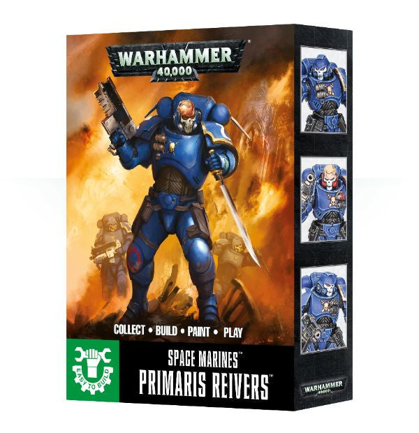 Warhammer 40K Easy To Build: Primaris Space Marine Reivers